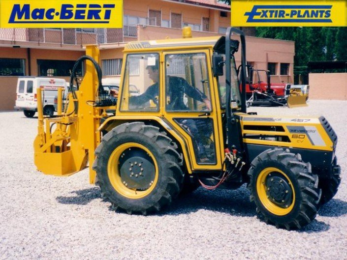 tree spade tractor pasquali